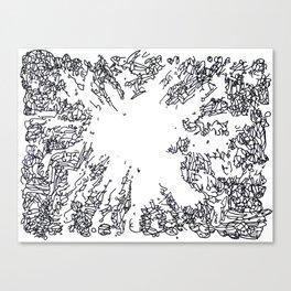 BOOM Ink4 Canvas Print