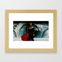 KAL-EL Framed Art Print