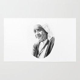 Mother Teresa Rug