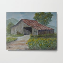 The Old Barn WC20150713a Metal Print