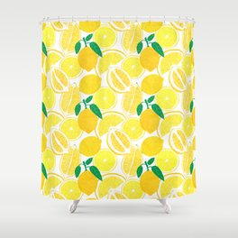 Lemon Harvest Shower Curtain