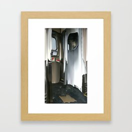 Subway Door Framed Art Print