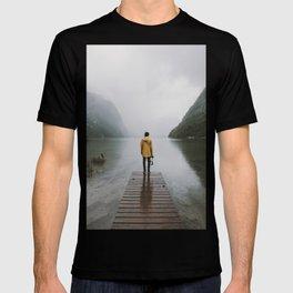 Mountain Lake Vibes - Landscape Photography T-shirt