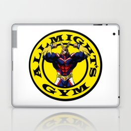 Allmight Boku No Hero My Hero Academia Golds gym Laptop & iPad Skin
