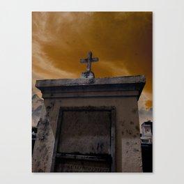 Mausoleum Canvas Print