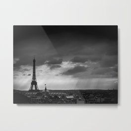 Paris, from Lafayette Metal Print
