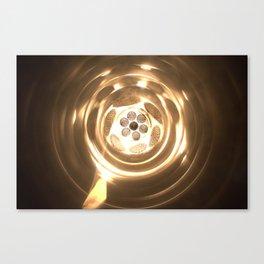 Gargantua, the worm hole Canvas Print