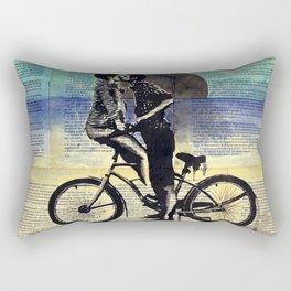 True blue love Rectangular Pillow
