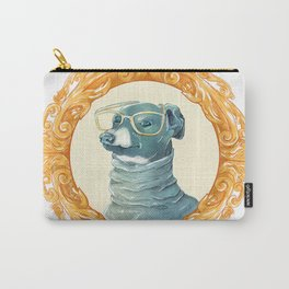 Iggy with glasses  Carry-All Pouch