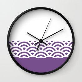 Rainbow Trim Ultraviolet Wall Clock