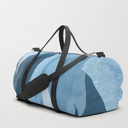 Shapes and Layers no.24 - Blues Duffle Bag
