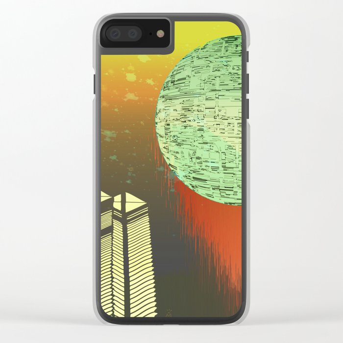 Planetary Moods 1B / 01-09-16 Clear iPhone Case