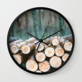 Wood Wall Clock