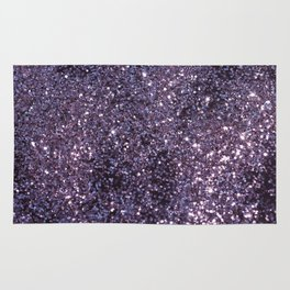 Sparkling ULTRA VIOLET Lady Glitter #2 #decor #art #society6 Rug