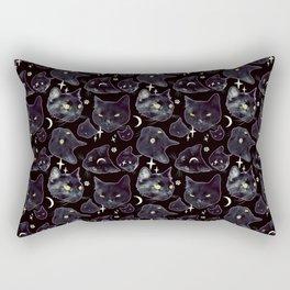 Black Magic 2 Rectangular Pillow