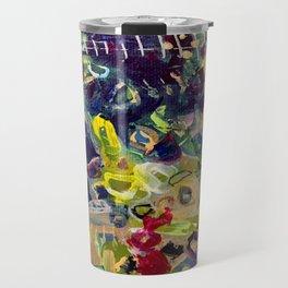 Gold N Klimt Travel Mug