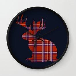 Lumberjackalope Wall Clock