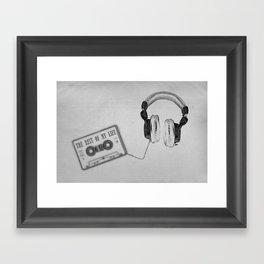 Music, please! Framed Art Print