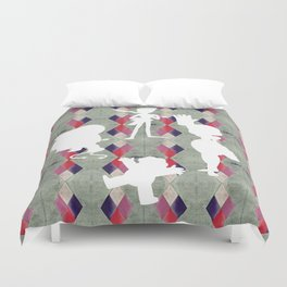 Untitled #65 The Crystal Gems Duvet Cover