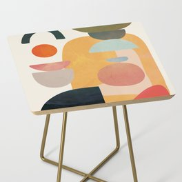 Modern Abstract Art 70 Side Table