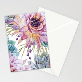 FLOWERS WATERCOLOR 19 Stationery Cards
