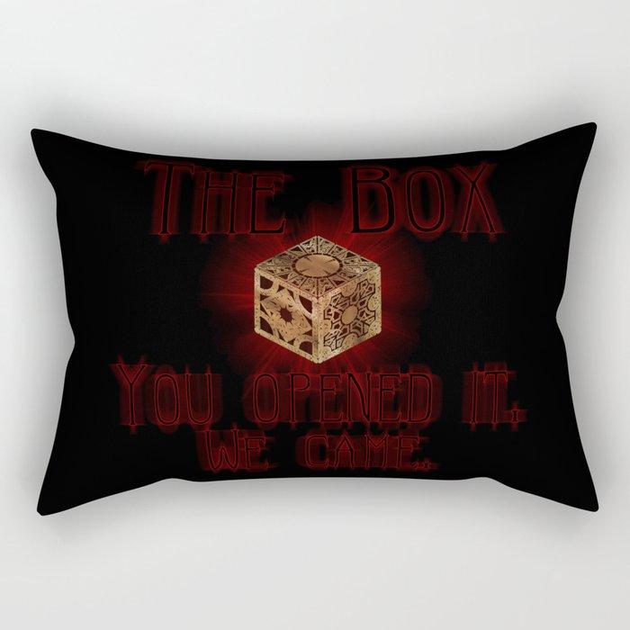 Hellraiser The Box You Opened It Rectangular Pillow