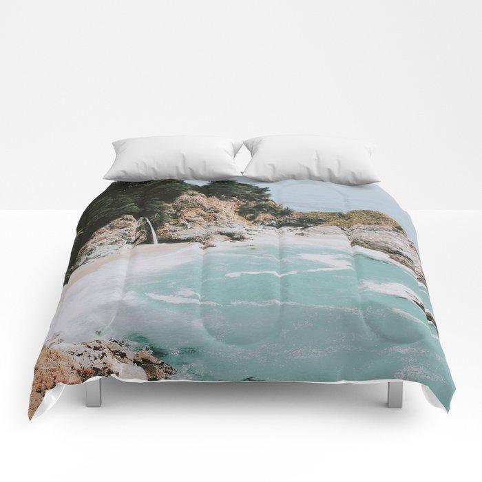 big sur / california Comforters