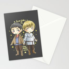 Merthur chibis Stationery Cards