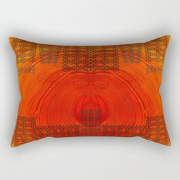 City in a morning Rectangular Pillow