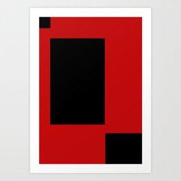 Red 004 Art Print