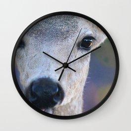 More Curious Than Afraid Wall Clock