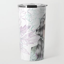 GUM FLOWER GIRL Travel Mug