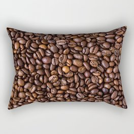 Coffee Bean Scene Rectangular Pillow