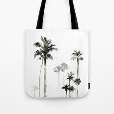 Shadow palms Tote Bag