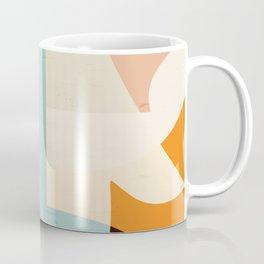 Modern Abstraction / Desert Coffee Mug