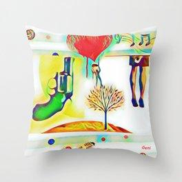 Covert Throw Pillow