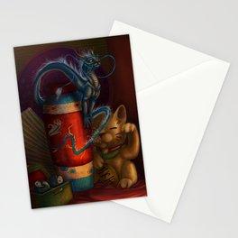 Ceramic Dragon  Stationery Cards