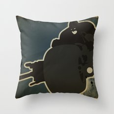 The Dark Knight: Batpod Throw Pillow