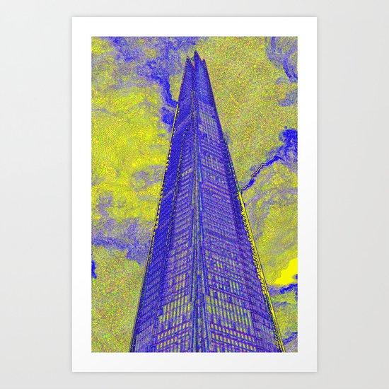 The Shard London Art Art Print
