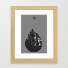 some forest Framed Art Print