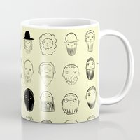 birdman Mugs featuring beards by lambaliha