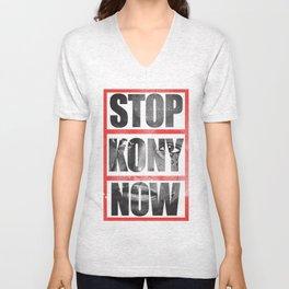 Stop Kony Unisex V-Neck