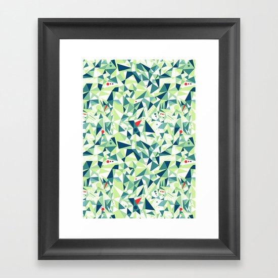 Moment Pattern Framed Art Print