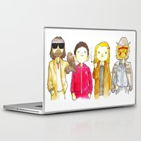 tenenbaum Laptop & iPad Skins featuring Royal Tenenbaum bought the house on Archer Avenue in the winter of his 35th year by Space Bat designs