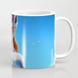 Cyclist girl Coffee Mug