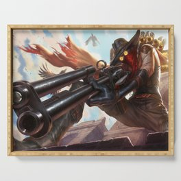 High Noon Jhin League of Legends Serving Tray