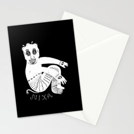 The White Demon Stationery Cards