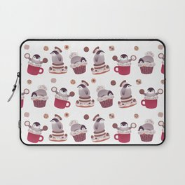 Cookie & cream & penguin Laptop Sleeve