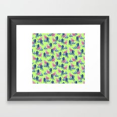 Pop Kittens Framed Art Print