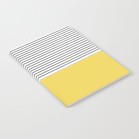 MINIMAL Green Stripes Notebook